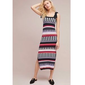 Anthropology Azulu Colors Striped Knit Dress 4